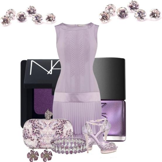 Šaty pre družičku - Jemná lila