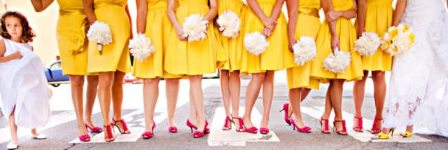 Letná svadba - družičky