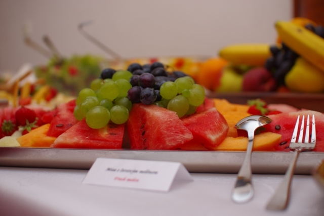 Svadobné menu - ovocný bufet – 640