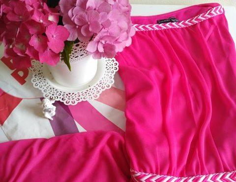 šaty pre družičky cyklaménové Bonprix 1