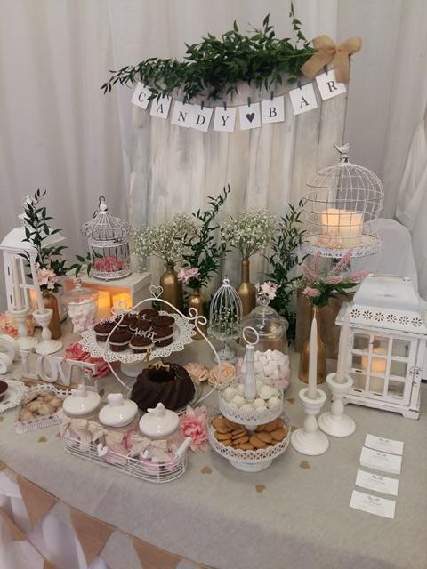 candy bar na svadbu v siedmom nebi