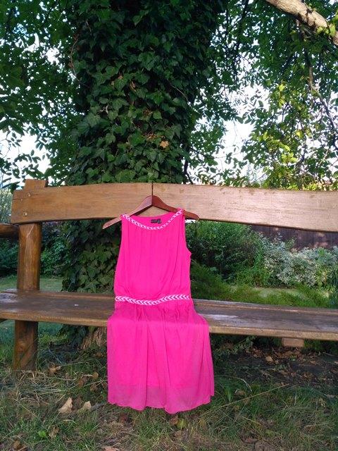 ružové šaty na party Bonprix