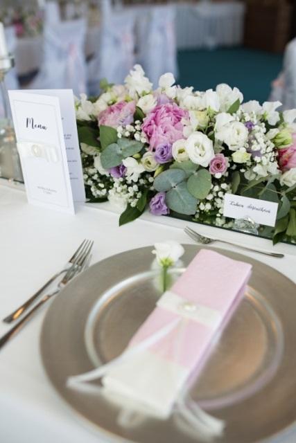 svadobne stolovanie dekoracie
