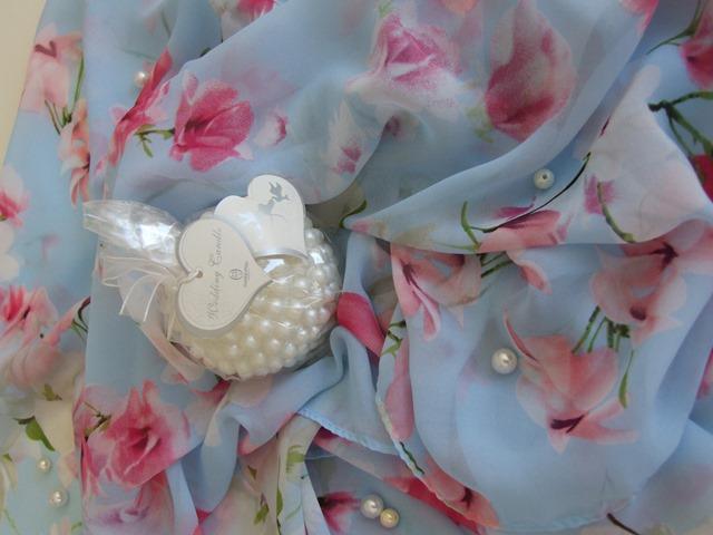 modry sal s kvetinkami Orsay