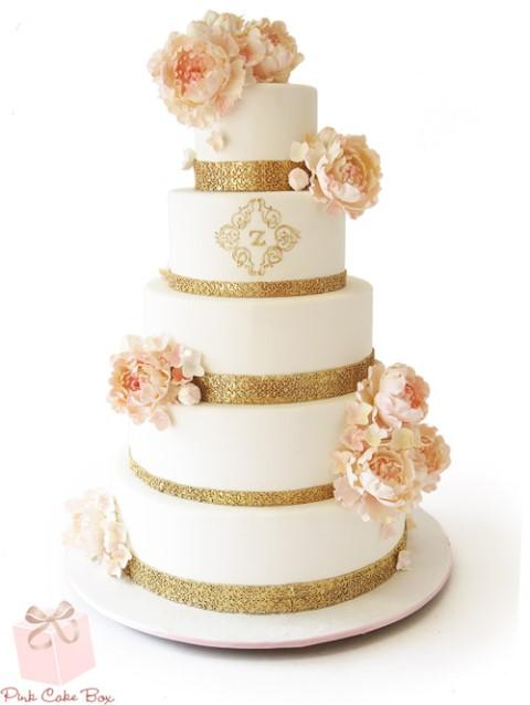 ddbbbabfb2 15 horúcich trendov pre svadobné torty – Časť 1. - Družička