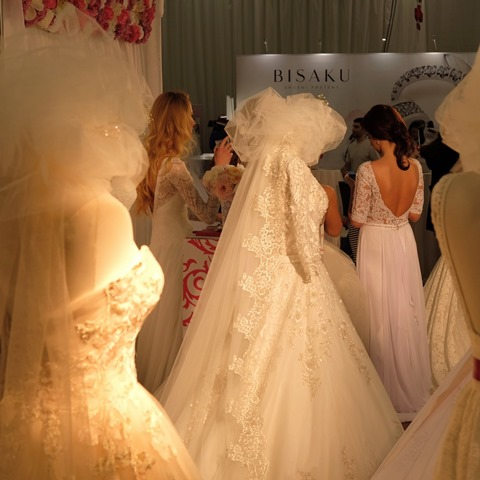 Svadobný veľtrh Incheba 2018 - šaty pre nevestu