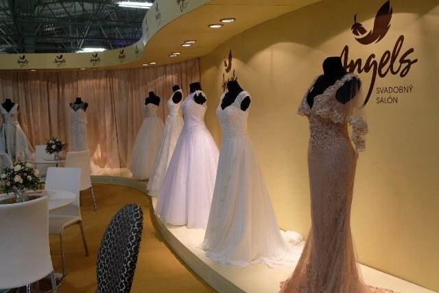Svadobný veľtrh Incheba 2018 - svadobné šaty