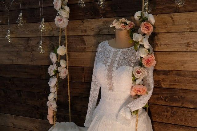 Svadobný veľtrh Incheba 2018 - svadobné šaty romantické