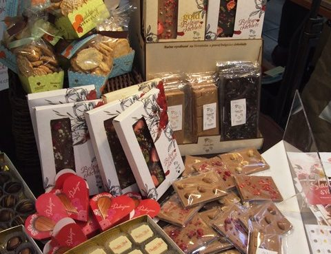 čokoládky darčekové balenia