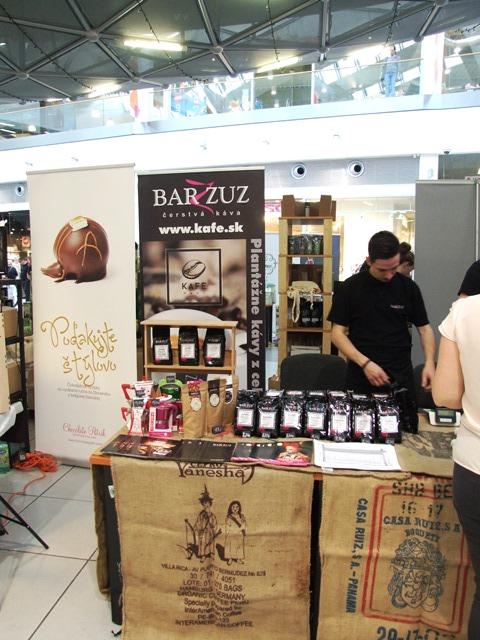 Bar Zuz na festivale Dni kávy čaju čokolády
