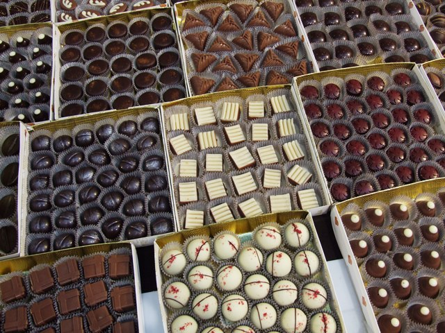 Belgické pralinky na festivale čokolády v TN