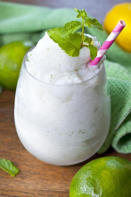 mrazene kokosove mojito na letnu party
