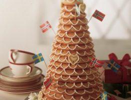 dánska svadobná torta