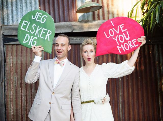 dánska svadba