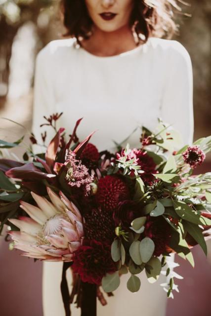jesenna svadobna kytica