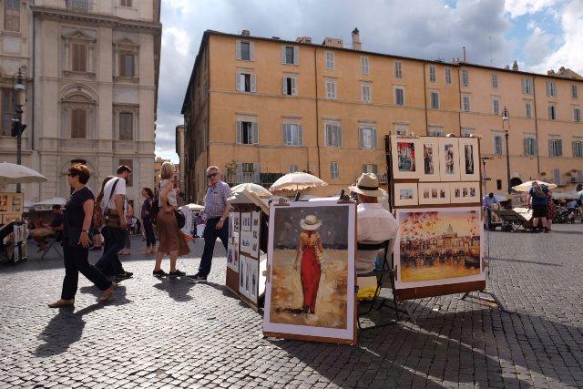 Rim - Piazza Navona 1