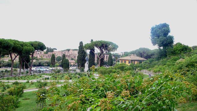 Rim, Ruzova zahrada, fotenie nevesty 2