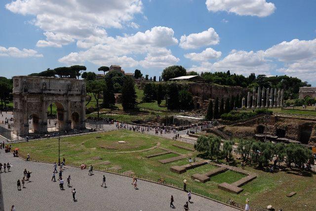 Rim svadba, Palatin 4