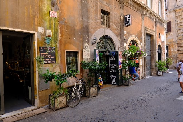 Rim, ulicky na fotenie