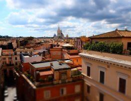 Rim - vyhlad ponad strechy