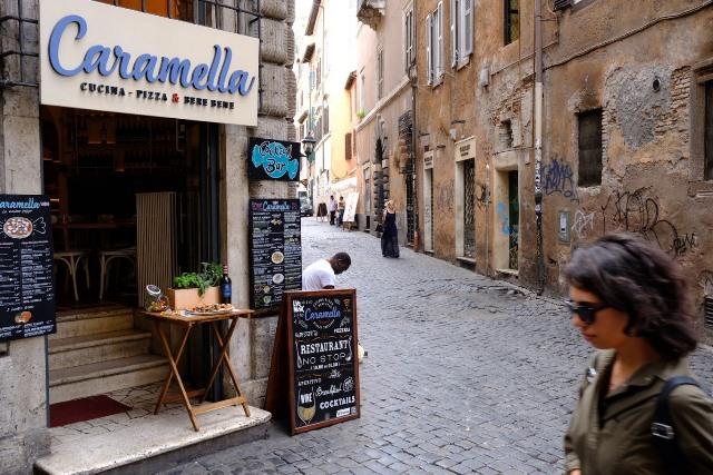 Rimske ulicky na fotookruh