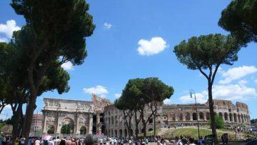Svadba v Rime, Koloseum 6