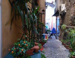 Svadba v Rime, fotenie ulicky