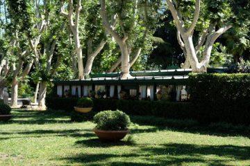 Svadba v Rime, parky