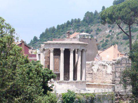 Svadba v Tivoli, Rim 1