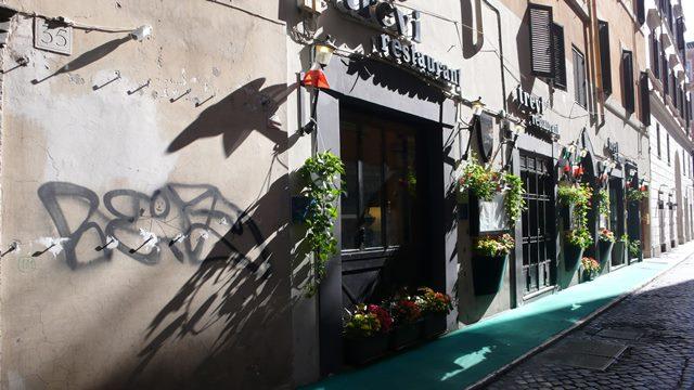 svadobne fotenie v Rime, ulicky v Rime
