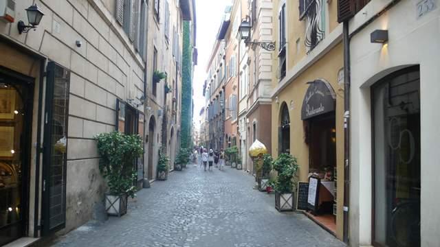 ulicky Rima na svadobne fotenie