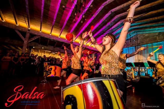 Cubano Project Ples - Salsa ples Bojnice