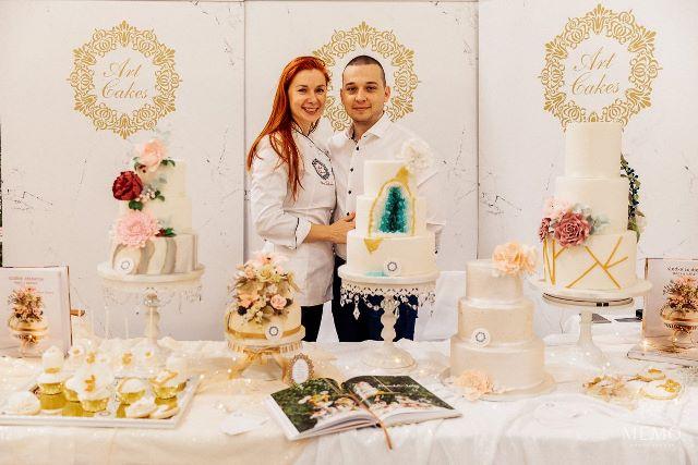 Art cakes Petra Tothova Incheba 2019