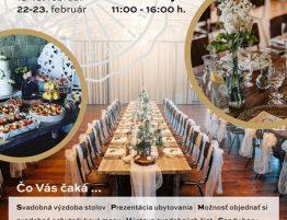 Meridiana Bojnice Svadobná výstava 2020