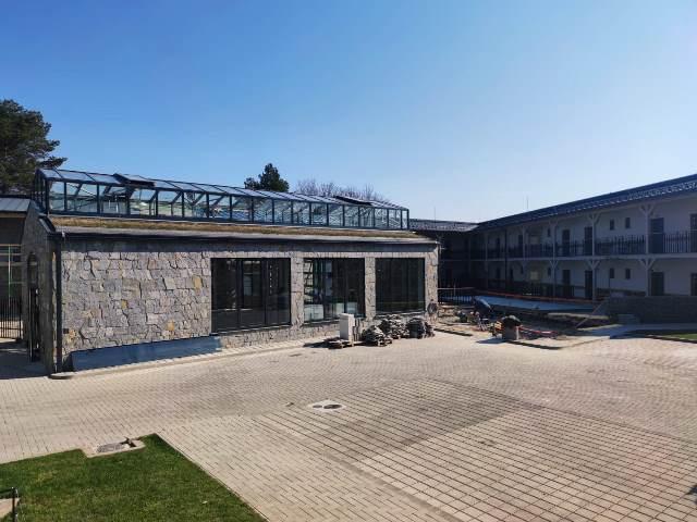 Penzión Meridiana Bojnice stavebné práce