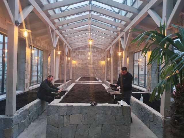 Reštaurácia Meridiana Bojnice - nový skleník