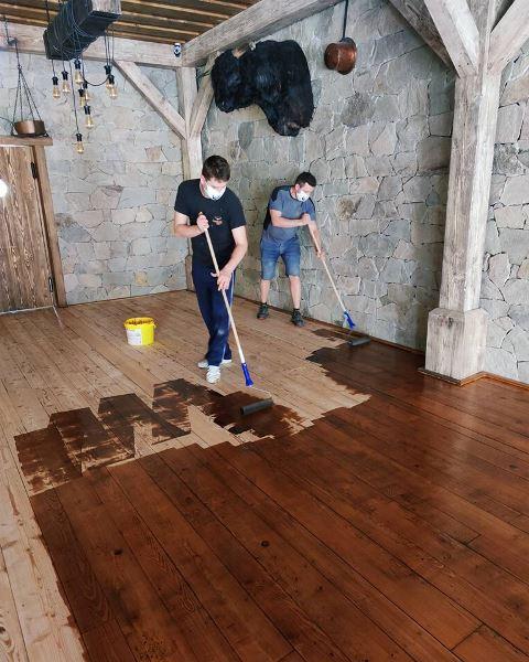 Reštaurácia Meridiana Bojnice - renovácie podlahy