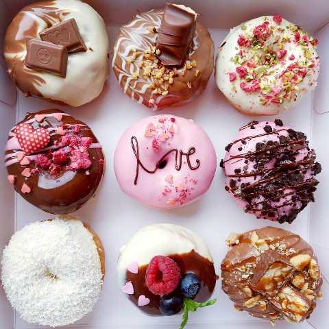 Valentínske donutky, Heaven Donut Prievidza