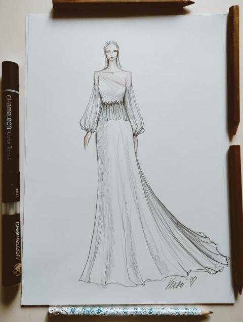 návrh šiat 1 Veron fashion