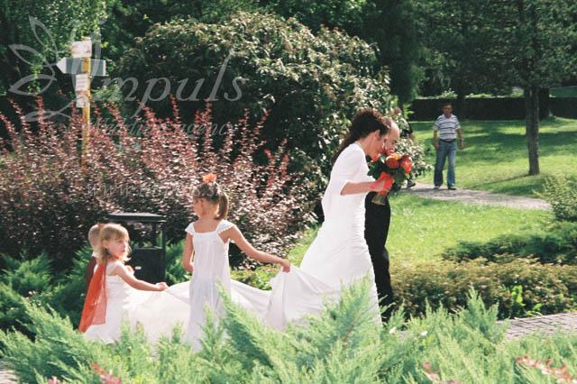 Deti na svadbe - družičky
