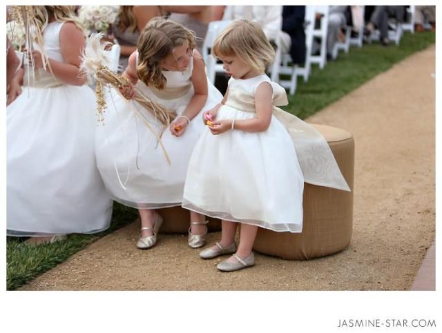 Deti na svadbe - družičky na sobáši