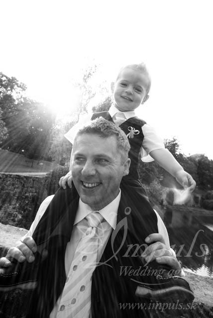 Deti na svadbe - malý družba