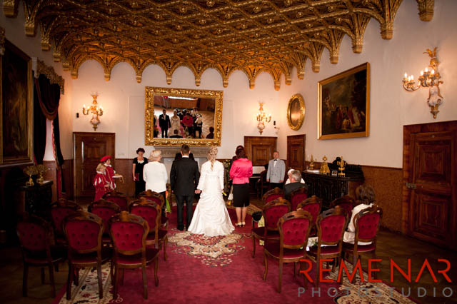 Malá svadba na zámku