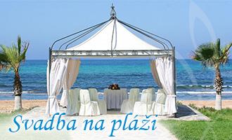 Svadba na pláži/Cyprus
