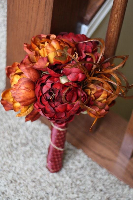 25065562f079 svadobna kytica v jesennych farbach · svadobna kytica na jesennu svadbu ·  farebna jesenna svadobna kytica