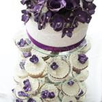 svadobna_torta_cup_cake_towe_fialova