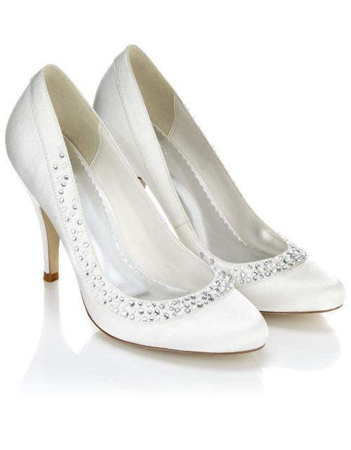 5f7d148983 Vyberáme svadobné topánky - Družička