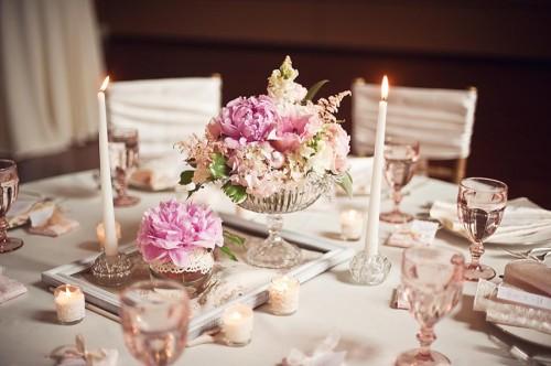 Shabby chic svadba. vintage svadba ruzovo zlaty aranzman f606fea2b8c