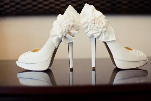 b17712cd35a0 5 tipov ako vyberať svadobné topánky - Družička